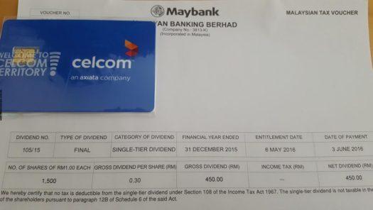 Dividend - Maybank