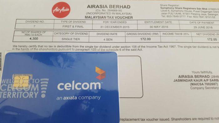 Dividend - AirAsia Berhad