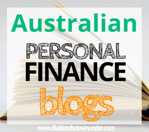 Australian personal finance blogs - dividends down under blog