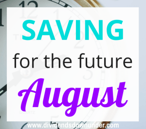 Saving for the future August 2016 - dividends down under blog