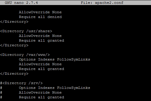 how to set allowoverride all on ubuntu for wordpress Options  Indexes files windows search indexes on your pc