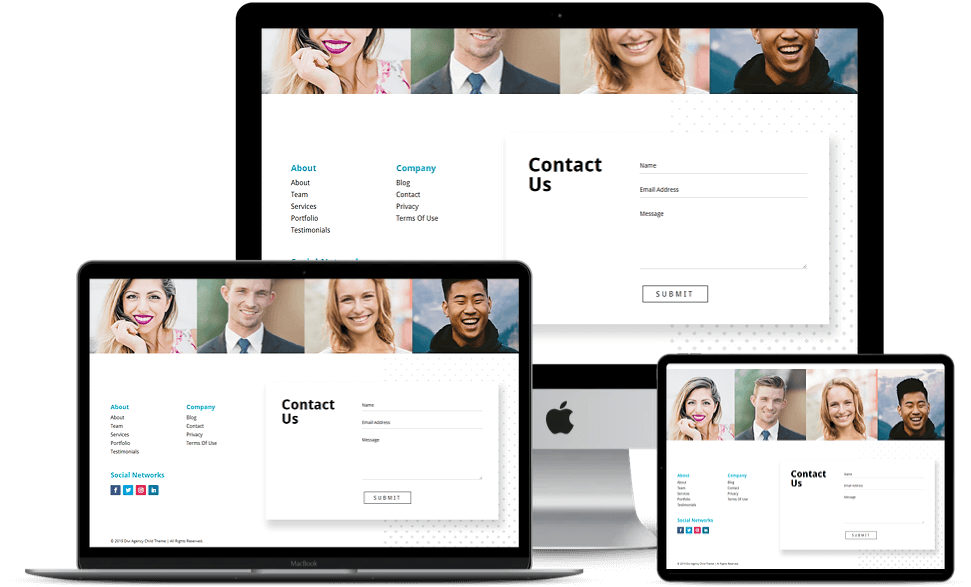 Child theme for Divi Agency