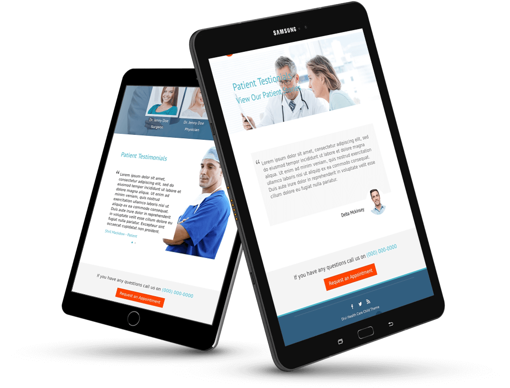 divi doctor child theme