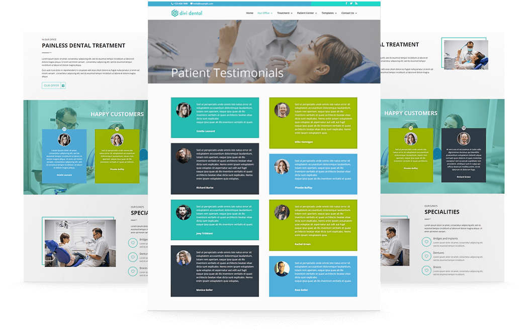 Divi child theme for dental professionals