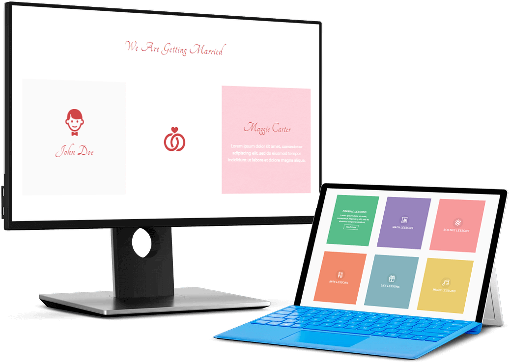 Divi Blurb flipbox layout