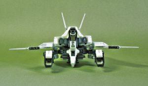 試作量産型可変機エクシードジャイヴ 飛行形態後方