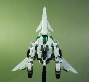 試作量産型可変機エクシードジャイヴ 飛行形態底面