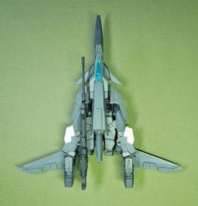 改良型空戦可変機リーンデルタ 飛行形態トップ