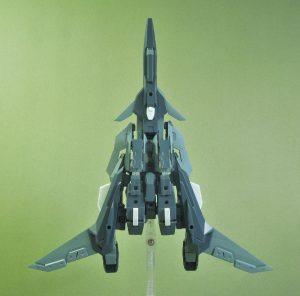改良型空戦可変機リーンデルタ 飛行形態ボトム