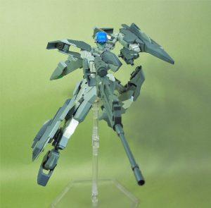 改良型空戦可変機 リーンデルタ 二丁装備