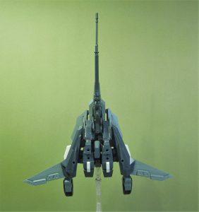 改良型空戦可変機リーンデルタ 無尾翼形態ボトム