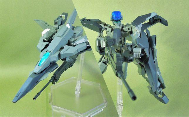 改良型空戦可変機 リーンデルタ