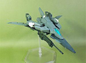 改良型空戦可変機リーンデルタ 高速飛行形態