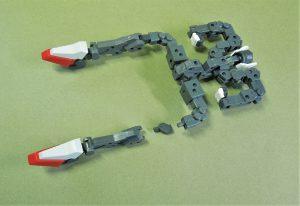 可変技術試験機ステップトリーダ 脚部間接構造