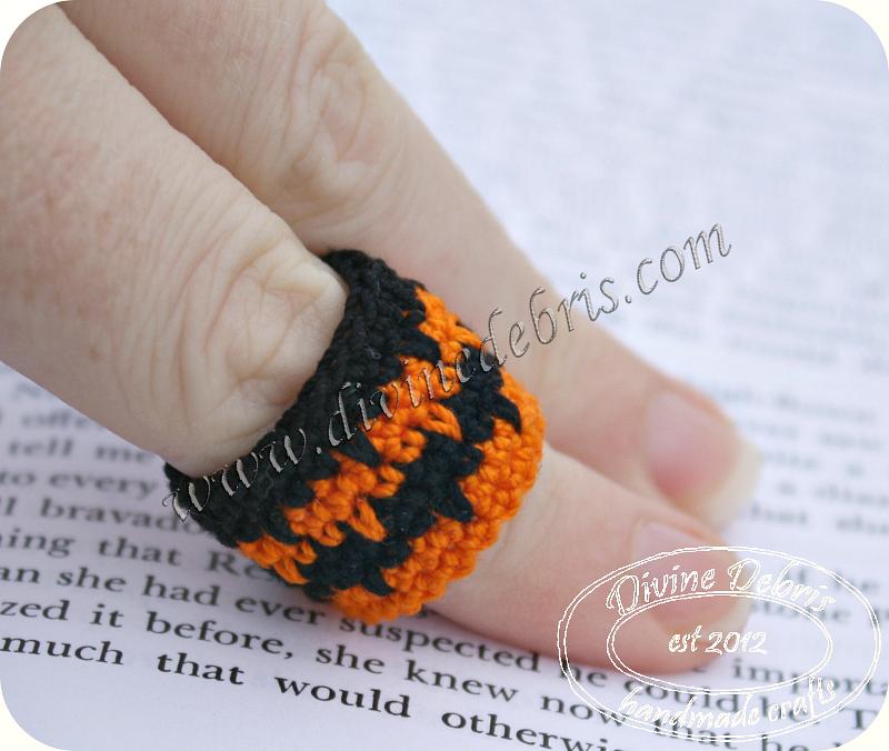 New project: crochet rings