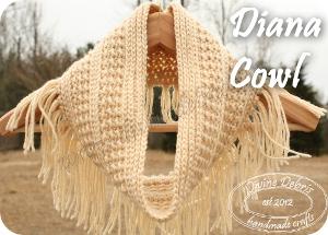 Diana Cowl Pattern by DivineDebris.com