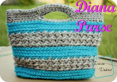 Diana Purse, a free crochet pattern by Divine Debris
