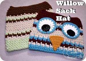 Willow Sack Hat Pattern by Divine Debris