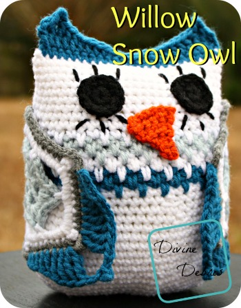 Willow Snow Owl Pattern by Divinedebris.com