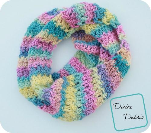Katie Cowl free crochet pattern by DivineDebris.com