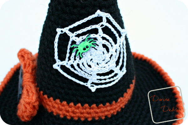 Winifred Witch Hat free crochet pattern by Divinedebris.com