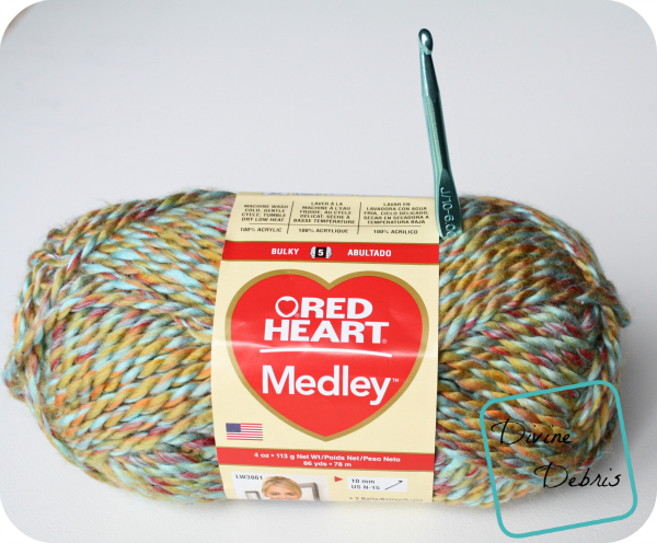 Red Heart Yarns Medley review by DivineDebris.com