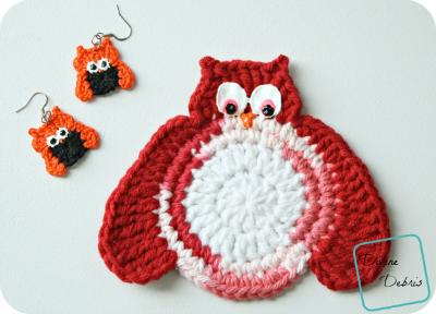 (free) Olga Owl crochet patterns by DivineDebris.com