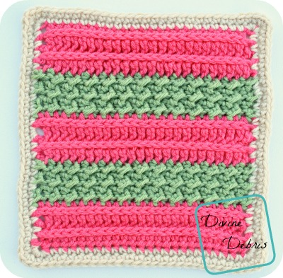 Diana Afghan Square crochet pattern by DivineDebris.com