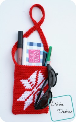 Snowflake Purse Free Crochet Pattern by DivineDebris.com