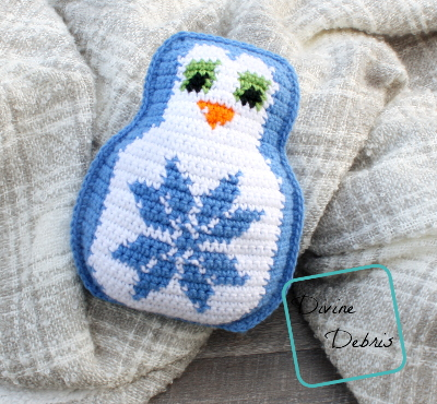 Penguin Pal – the Snowflake Penguin Crochet Amigurumi pattern