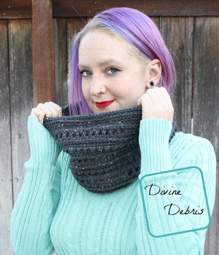 Something To Keep Ya Warm – Lindsay Cowl free crochet pattern