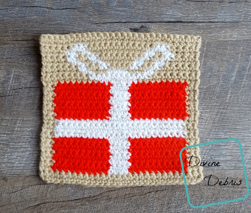 Tapestry Square Afghan Project – week 12 (December)