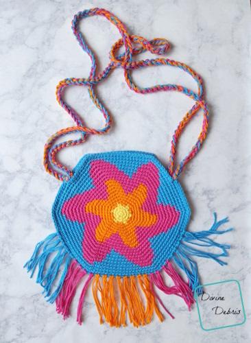 Bursting with Stars: The Starburst Bag Free Crochet Pattern