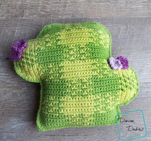 The Plaid Cactus free amigurumi crochet pattern by DivineDebris.com