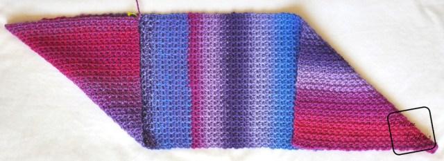 Azuma Bukuro Bag - Fold up another corner