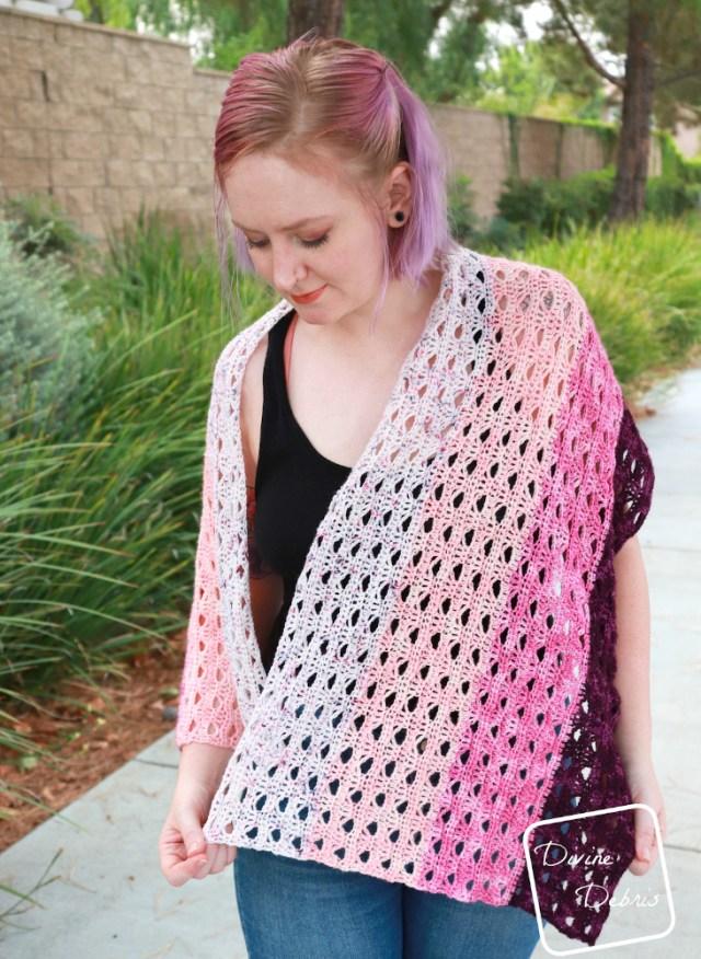 Louise Shawl free crochet pattern by DivineDebris.com
