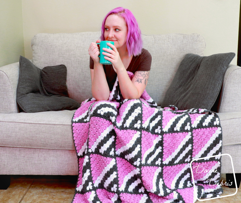 Blankets Have Never Been Sweeter – the Free Neapolitan Blanket Crochet Pattern
