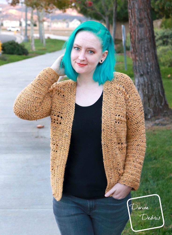 Get Cozy with the Free Loretta Cardigan Crochet Pattern