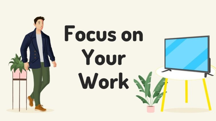 Become more productive: Minimize distractions