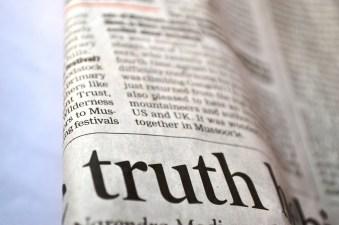 Truth & newspaper