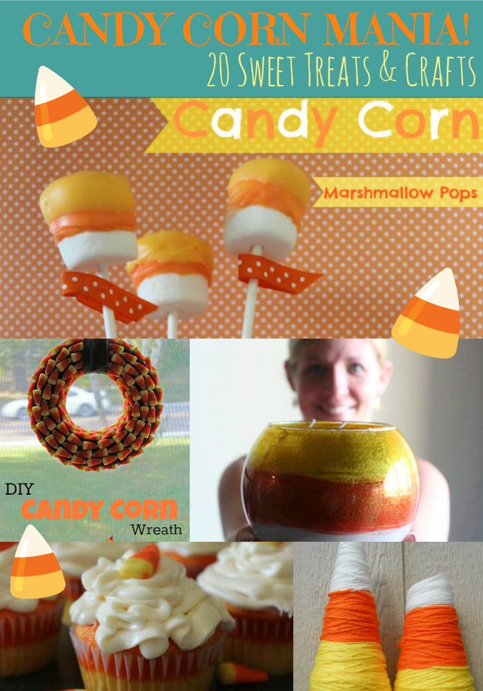 Candy Corn: 20 Sweet Treats & Crafts