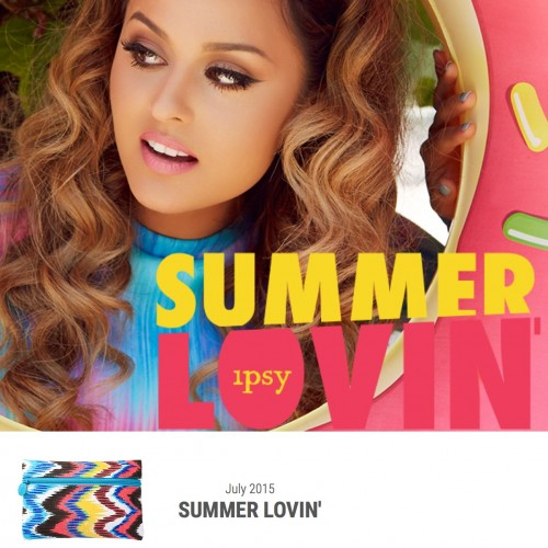 July 2015 Top Shopping Picks as seen on Instagram ipsy July 2015 Summer Lovin' Glam Bag