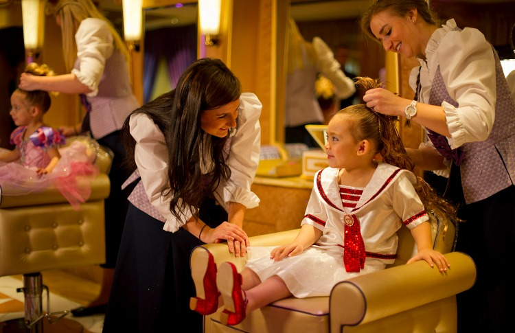 Disney Dream Cruise Ship for Kids Bibbidi Bobbidi Boutique