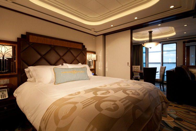 Disney Dream Cruise Ship Cabins Concierge Suite with Verandah