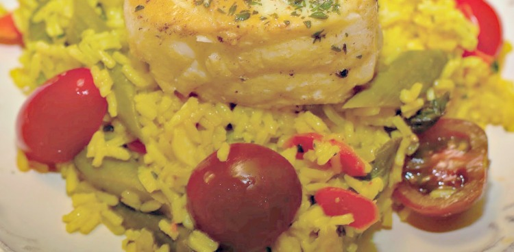 Halibut Rice