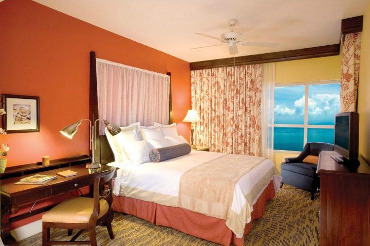 Marriott's Oceana Palms Master Bedroom Ocean View