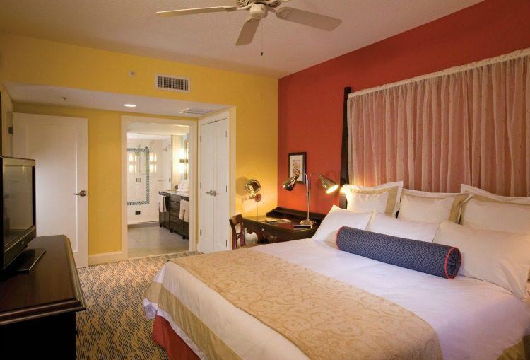 Marriott's Oceana Palms Master Bedroom