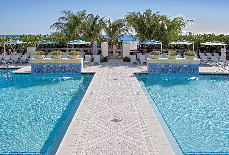 Marriott's Oceana Palms Pool Area