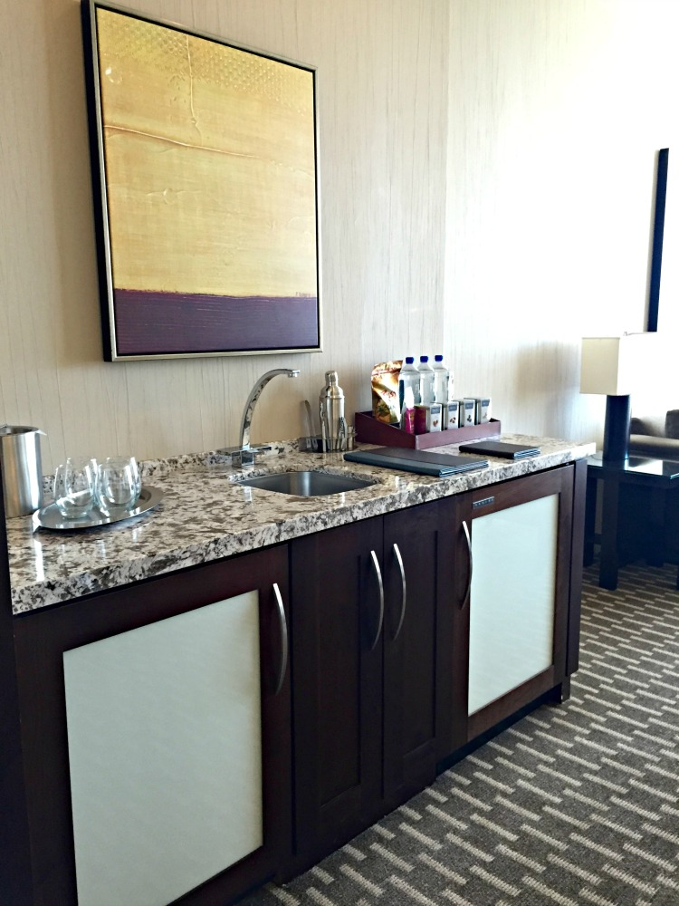 ARIA Hotel & Sky Suites in Las Vegas - ARIA Sky Suites Wet Bar