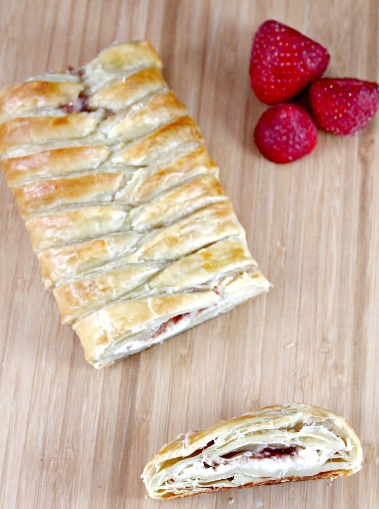 Strawberry Cheesecake Danish 1